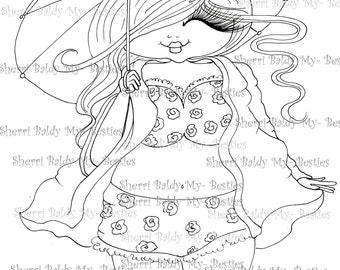 INSTANT DOWMLOAD Digital Digi Stamps Big Eye Big Head Dolls Digi New Fluffy Beautiful Besties Tm  img047 By Sherri Baldy