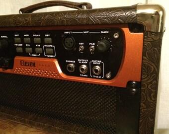 """Custom Tolex Studio Rack Case 2u 3u 4u 5u 6u 19"""" Rack Mount Case Guitar Amp Case"""
