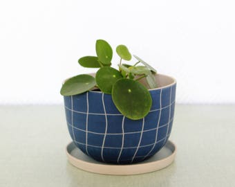 G R A N D - P O T - D E - F L U O R / / plant / macrame / flower pot gift idea / offer spring / home decor.