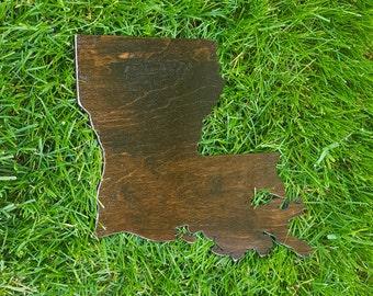 Rustic Louisiana Map, Wooden Louisiana Map, Louisiana Map Outline, Louisiana Map Art, Louisiana State Cutout, Louisiana Wedding Guestbook