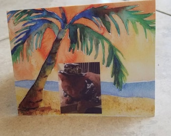 Sun, Sea  & Sand Note Cards