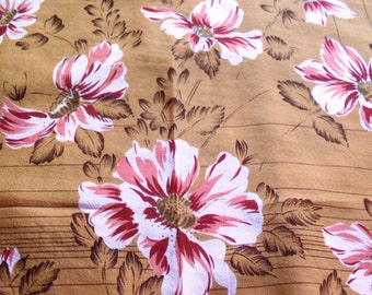 foulard, scarf, scarves, headscarf, J. D'Ormont Paris, designed this meadow full daisies handicraft, production in 1980, made in France