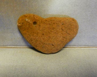 Natural Stone Heart Shaped Rock from Lake Superior  item 7