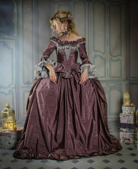 Marie Antoinette Dress 18th Century Dress Marie Antoinette