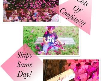 Ships Same Day! 12 Inch Confetti Cannon Gender Reveal Confetti Cannon Gender Reveal Cannon Fast Shipping!
