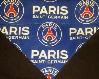 Dog Bandana Made from Paris Saint Germain FC fabric
