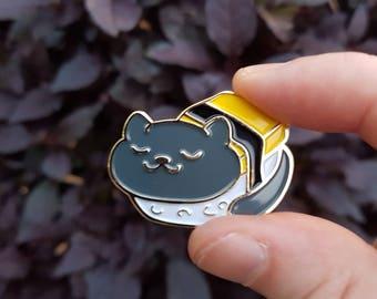 Tamago Neko - Sushi Cat Soft Enamel Pin