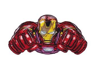 Iron Man Patch, Genuine Marvel Iron On Applique, Iron Man Applique, Superhero Applique, Kids Patch