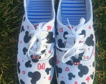 Mickey pattern shoes