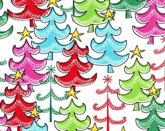 Christmas Fabric, Yellow Star, Craft Projects, Christmas Quilt, Fat Quarter, 1 Yard Fabric, Sewing Material, Red and White, Green and White