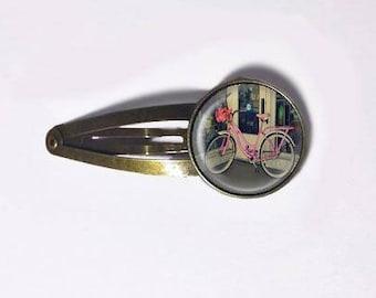 Vintage Bike Hair Clip