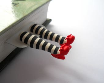 Wizard of OZ wicked witch bookmark. Great gift. OZ bookmark