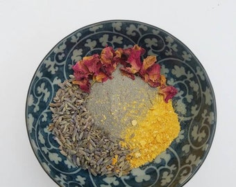 Naturally Exfoliating Face Mask (Organic) Great for Cystic Acne, Rosacea, Breakouts, Problem Skin