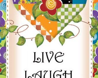 Magnet - LIVE, LAUGH, LOVE