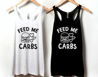 Carb Lovers - PMS Shirt - Carbs Shirt - Crazy Girl Shirt - Period Tshirt - PMSing T-Shirt - Hangry Shirt - Funny Feminist T Shirt R7SSx0