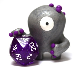Dot the Timid Monster - D20 One of a Kind