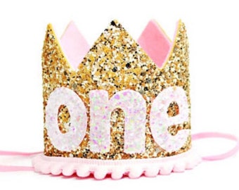 Cake Smash Outfit || First Birthday Outfit Girl || Girl Birthday Party Crown || 1st Birthday Crown || Birthday Crown Girl  || Baby Birthday