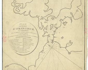 San Francisco Map 1798