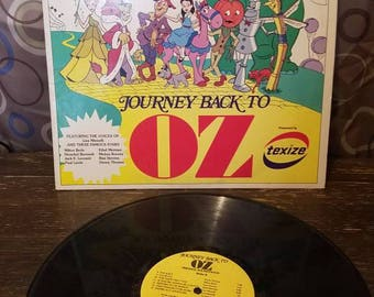 Journey Back to Oz Mickey Rooney Liza Minnelli Vinyl Records LP