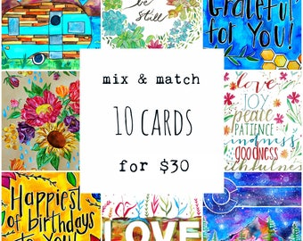 CARDS - Save When you Mix & Match Any TEN