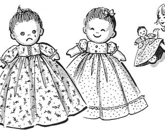 Happy and Sad Upside Down Cloth Doll Pattern Also Known As A Topsy Turvy orTurnabout Doll PDF Instant Download ePattern Email Pattern
