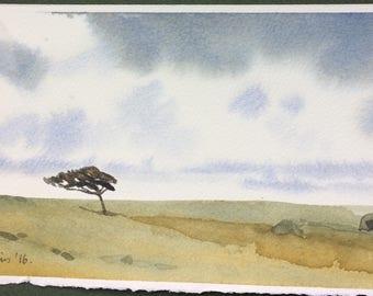 Solitude (Come wind or rain)