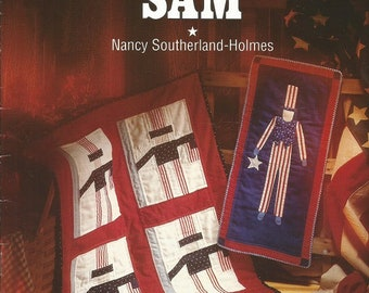 "That Patchwork Place The Americana Collection ""Uncle Sam"" by Nancy Southerland Holmes"