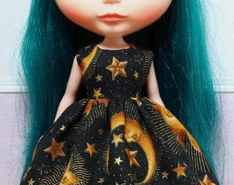 BLYTHE doll Its my party dress - celestial gold