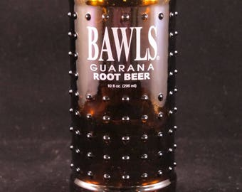 YAVA Glass - Recycled Bawls Guarana Root Beer Bottle Glass