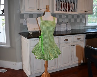 Spring into Summer  -  Josie Style - Women's Apron - 4RetroSisters