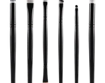 6 Piece Makeup Brush Set Style 001