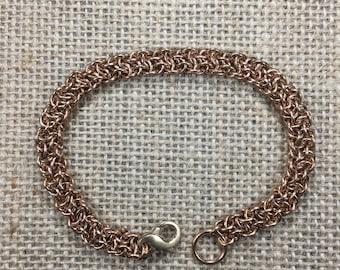 Delicate Vipera Berus Bracelet in Bronze