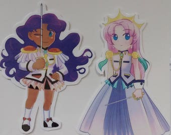 Utena/Anthy Stickers - Singles and Pairs