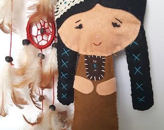 "Dolls ""Around the World""-India//Idea Reaglo//Girls//Collection//dolls//travel-lovers//felt//Felt"