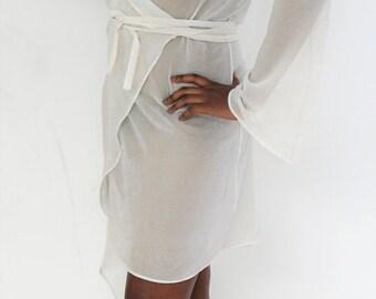 Summer evening cover up dress