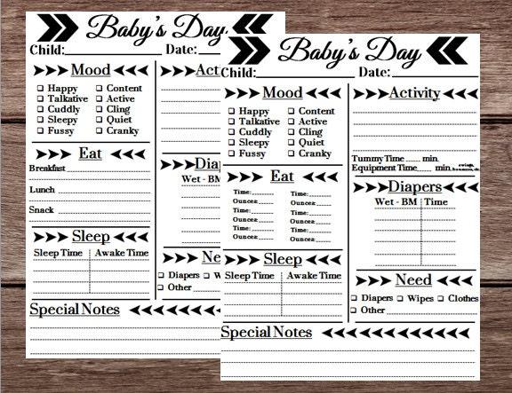 infant daily log tier brianhenry co