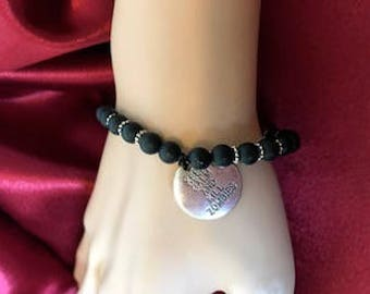 Zombie lover's stretchy bracelet
