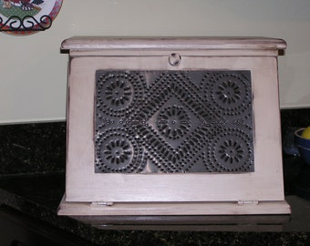 Punched Tin Breadbox