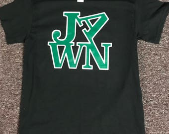 """New Custom Made Philly """"LOVE JAWN"""" Graphic T-Shirt"""