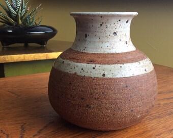 Vintage Studio Stoneware Vessel