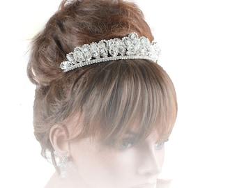 Wedding Tiara, Bridal Tiara, Gold Tiara, Tiara for Weddings, Tiaras & Crowns