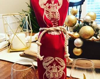 Lobster wine bag/lobster