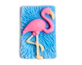 Decorative Flamingo Soap || Hand Sculpted Soap Design || Housewarming, Get Well Soon, Birthday, Holiday, or Just For Fun Gift