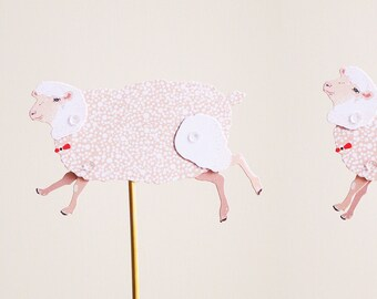 DIY Paper Puppet - SHEEP