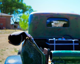 Antique Truck, Old Truck Photo, Pickup, Green Pickup, Car Show, Classic, Classic Car, Classic Truck, Automotive, Garage Art, Fathers Day
