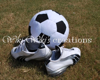 Plush Soccer ball