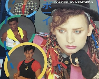 Culture Club Colour By Numbers Record LP