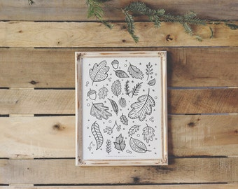 Printable Coloring Book Page - 8.5x11 - Instant Downloadable PDF
