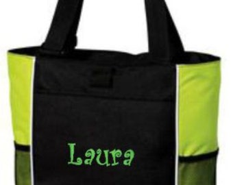 Tote Bag, Monogrammed Tote, Personalized Gifts, Personalized Tote, Tote, Gift for Mom, Gift for Her, Monogram Tote, Coworker Gift, Gift Bag