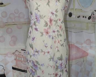 Vintage 1990s Floral R&K Dress